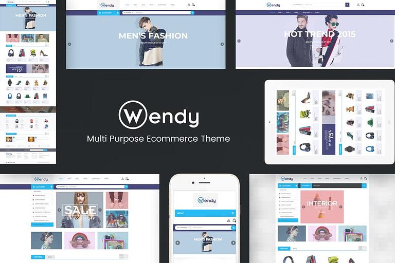 Tema Wendy Envato Elements capa01