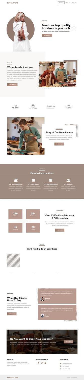 Screenshot 2020 09 18 BagKit – Just another TemplateKit TokoKoo Sites site scaled