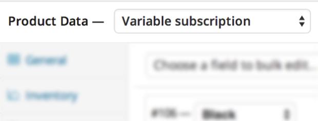 Aplicativo Assinaturas variable
